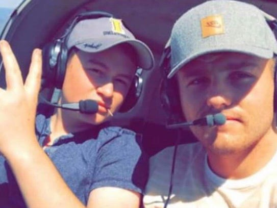 Brody Burnell (left) and Chandler Riesterer (right)