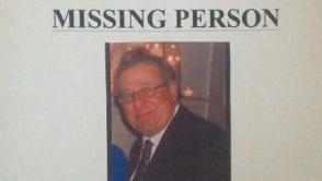 A missing poster seeking information on Raymond Locascio.