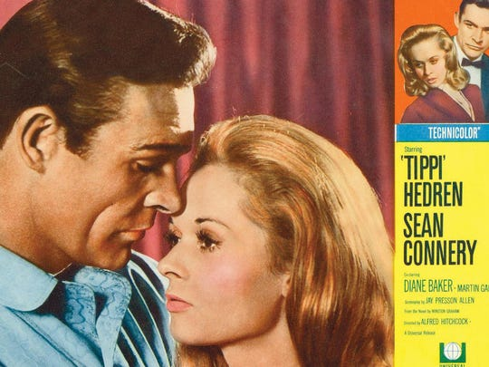 """Tippi Hedren's second and last Hitchcock film was """"Marnie,"""""""