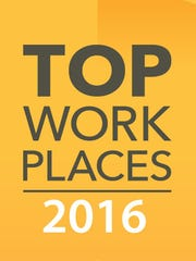Democrat and Chronicle Top Workplaces 2016.