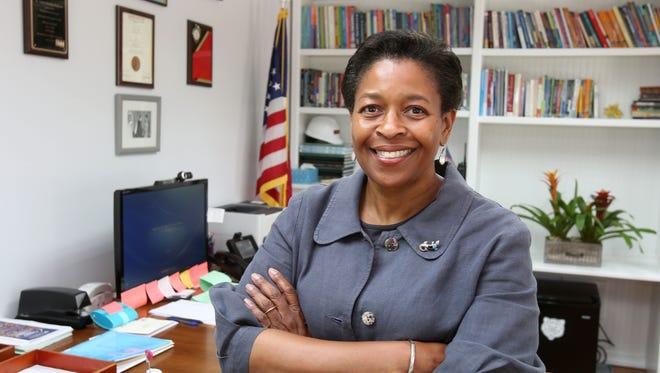 Valerie Henning-Piedmonte is the new superintendent of schools in the Brewster school district.