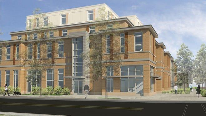 DeWitt House rendering