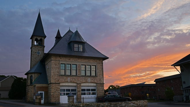 Built in the mid-1890s, the Brown Square fire station at the corner of Plantation and Franklin streets has been converted  into a home. Photographer Christine Peterson has been documenting the renovation since 2015.