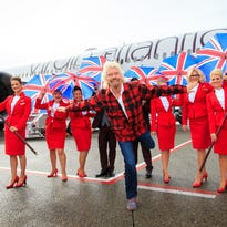Virgin Atlantic's Richard Branson bashes Alaska Airlines at Seattle launch