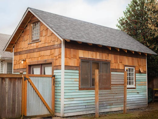 No. 1: This one-bedroom tiny house in Portland, Ore.,