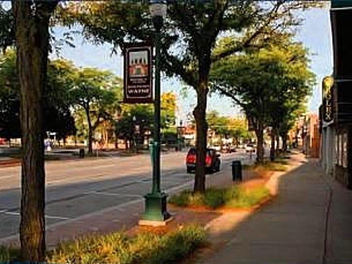 Downtown Wayne.