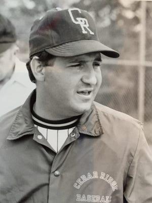 Mike Lepore Sr. as Cedar Ridge's head baseball coach