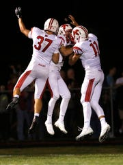 Kimberly High School football's Joe Lemancik, Zach