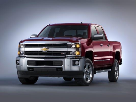 2015 Chevrolet Silverado HD Pickup Truck