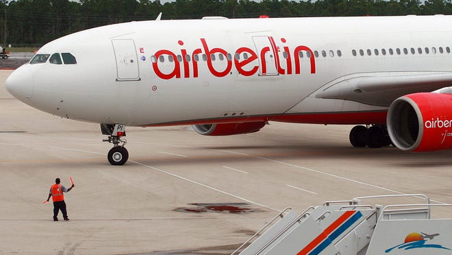 Southwest Florida International, with its airberlin flights to Dusseldorf, is the only mid-hub airport in the continental United States with year-round nonstop service to Germany.