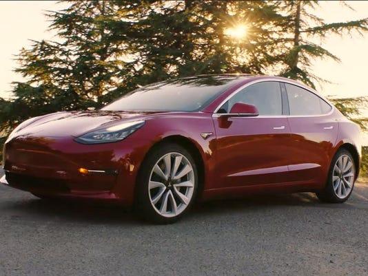 Tesla_Model3_red