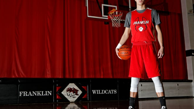 Franklin High School star Luke Kennard was named to the Associated Press Southwest District teams, which were announced Thursday night.