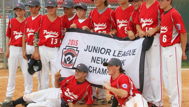 The Penfield Little League Junior baseball team won the the New York State title.