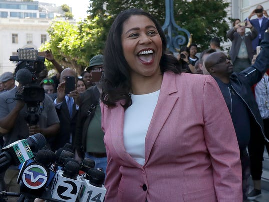 SAN FRANCISCO MAYOR LONDON BREED