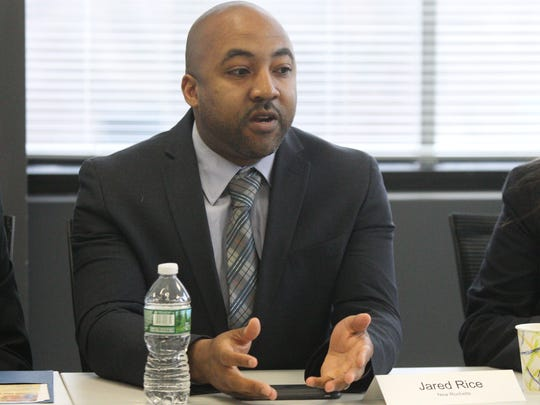 New Rochelle City Council member Jared Rice talks about