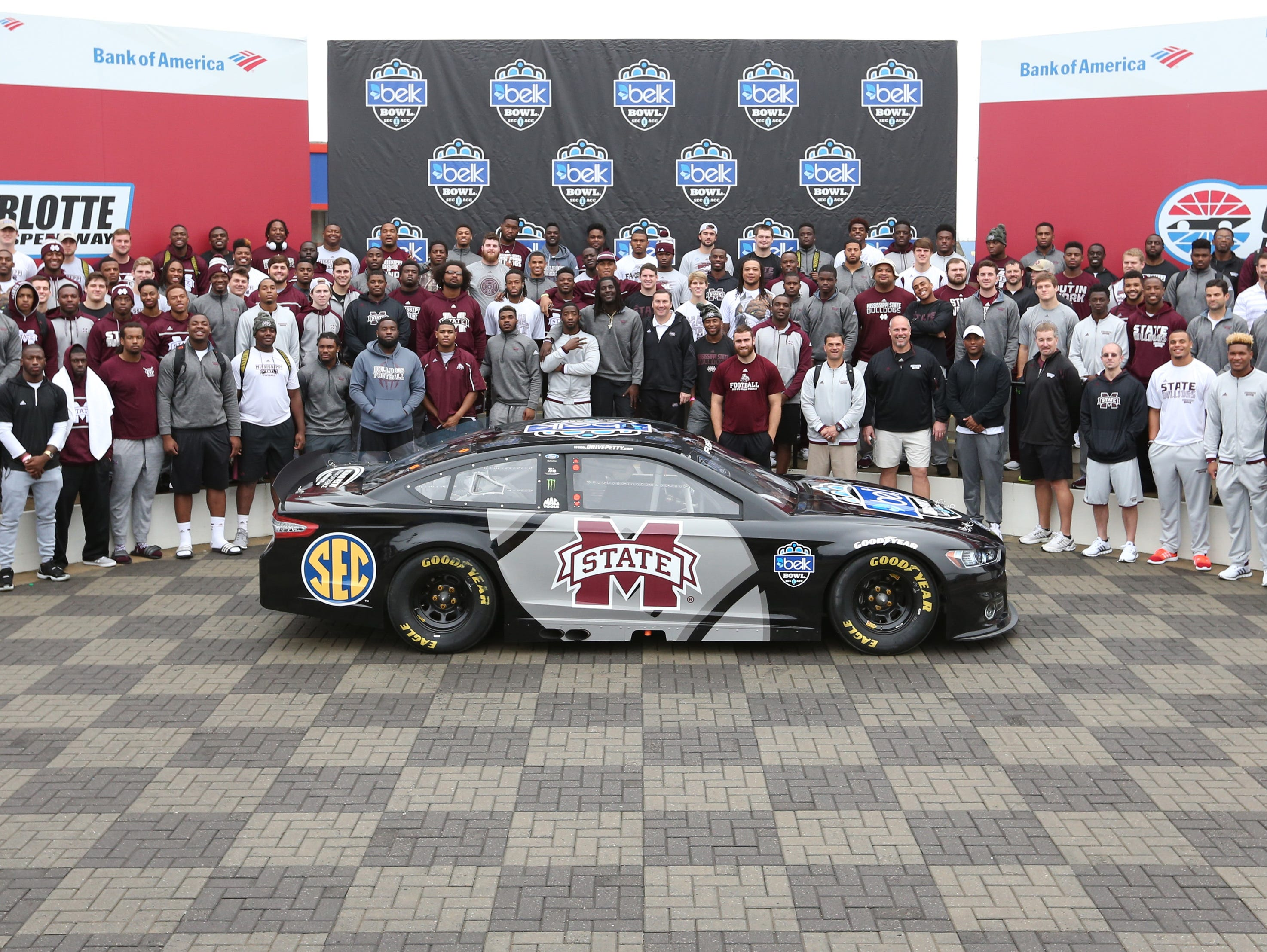 Msu goes fast in taking over charlotte motor speedway for Events at charlotte motor speedway