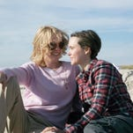 """Julianne Moore, left, as Laurel Hester, and Ellen Page as Stacie Andree in """"Freeheld,"""" directed by Peter Sollett."""