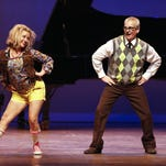 """Cortnee Doll and her father, Mark Doll, dance together to """"Fun, Fun, Fun"""" during Dancing with the Stars Great Falls. The 6th annual event happens Thursday, Sept. 17, at the Mansfield Theater."""