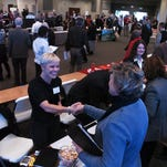 NoCoNet will host a job fair Oct. 26 at Faith Evangelical Church. NoCoNet periodically hosts job fairs like this one in 2011.