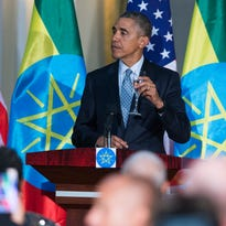 Obama makes historic trip to Africa