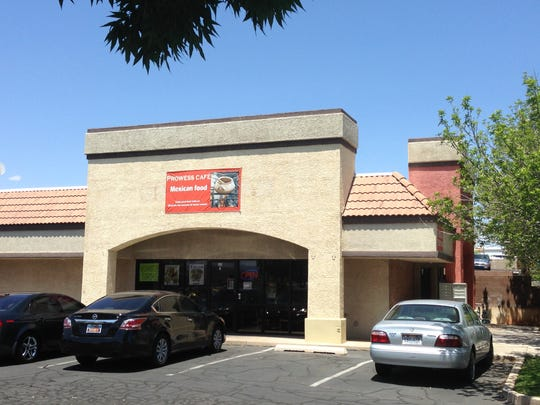 Prowess Cafe, located at 1418 W. Sunset Blvd., No. 1, in St. George, serves homemade Mexican food.