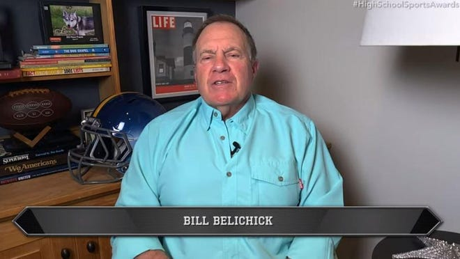 Legendary New England Patriots head coach Bill Belichick was one of the presenters for the fifth annual Best of Stark Show on Thursday night.