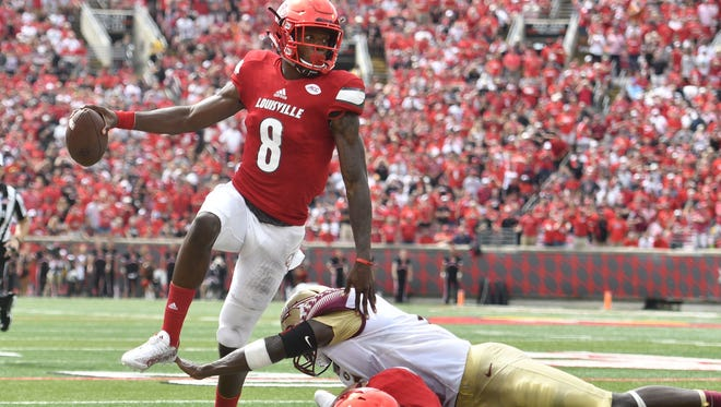 Lamar Jackson and Louisville carved up Florida State on Saturday.