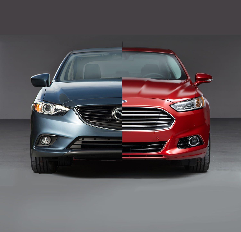 Ford Fusion Vs. Mazda6