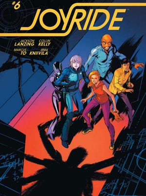 Joyride No. 6 cover