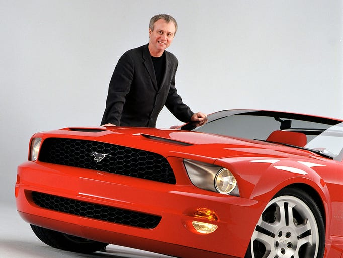 In the auto industry, designers are rock stars. GM's Harley Earl, Ford's E.T. Gregorie and Chrysler's Virgil Exner left a legacy still seen in today's cars. Ford's J Mays, a shining star among today's designers, recently announced his retirement. He's shown here with his Ford Mustang GT Convertible Concept.