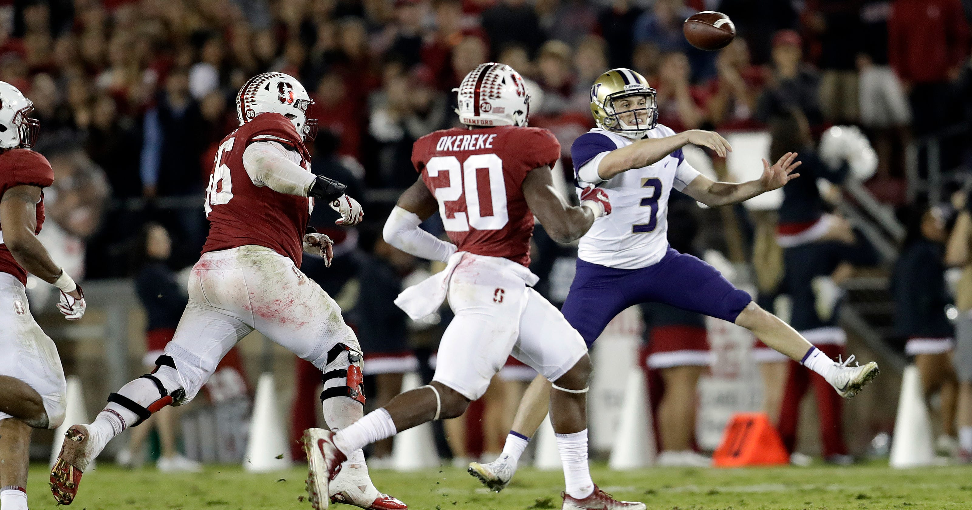 Washington Qb Browning Efficient But Not Matching Last