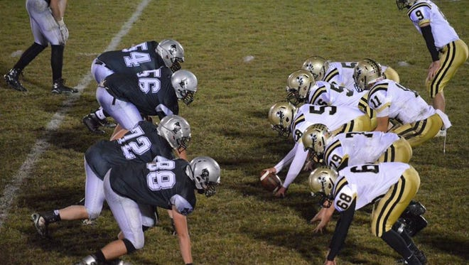 Robbinsville, left, is one of the first-place teams in the Smoky Mountain Conference.