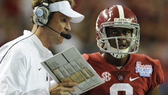 Mickey Welsh/Advertiser Alabama offensive coordinator