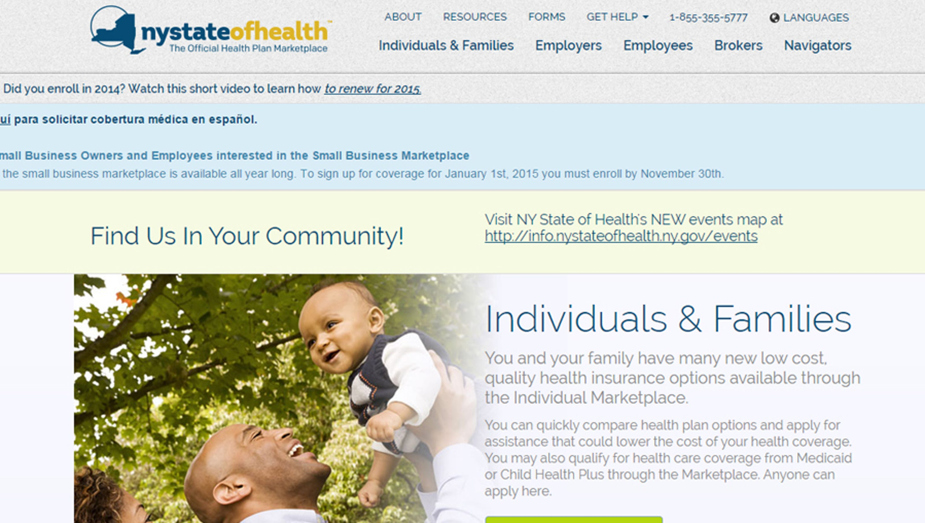 Enrollment in health exchanges increases across New York