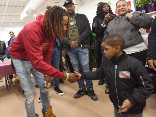 Fetty Wap came to Center City Mall in Paterson March