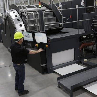 Oshkosh packager Great Northern-StrataGraph installing $10 million digital printer