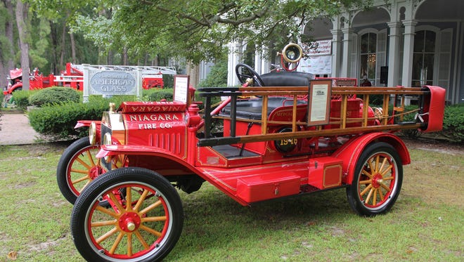 See vintage fire trucks and equipment at the Glasstown Antique Fire Brigade Muster and Fire Fighters' Family Day at WheatonArts in Millville on Aug. 21.
