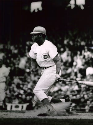 APRIL 7, 1970: Big Bopper helps get the Reds off to a bopping good start: First baseman Lee May connects on a fourth inning home run that gave the Reds impetus in an opener at Crosley Field.
