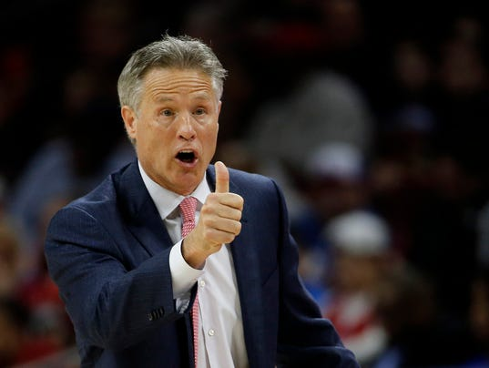Why Brett Brown Is Upbeat About The 76ers