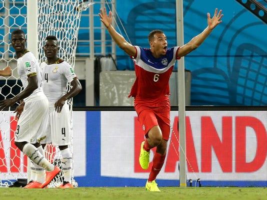 World Cup 2014 USA vs. Ghana