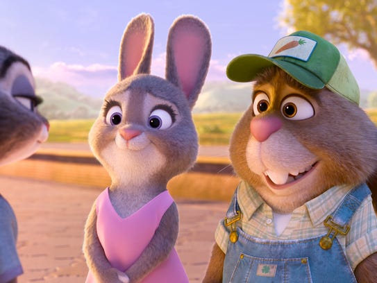 Bonnie Hunt provides the voice of Bonnie Hopps. Don