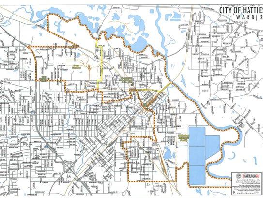 Ward 2 map
