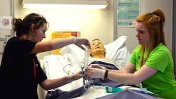Scrubs Camp brings hands-on learning to high school students looking at healthcare careers