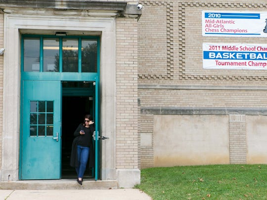 Students are let out of school early Friday as teachers and parents are angry at the unexpected firing of the head of Thomas Edison Charter School.