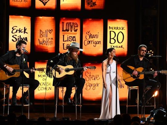 Maren Morris, Brothers Osborne, and Eric Church perform