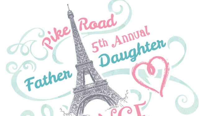 Register now for the 5th annual Pike Road Father Daughter Dance.