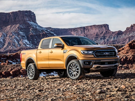 New Ford Ranger Unveiled At Detroit Auto Show After Long Absence - Auto ford