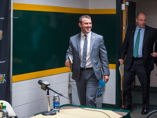 The University of Vermont named Rob Dow as the new