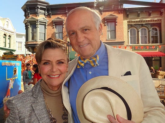 Patty McCormack with Larry Pressman from the 2013 CBS TV comedy drama 'Hart of Dixie'.