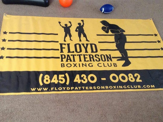 The Highland-based Floyd Patterson Boxing Club, which opens a Poughkeepsie location this weekend, has debuted a new banner.